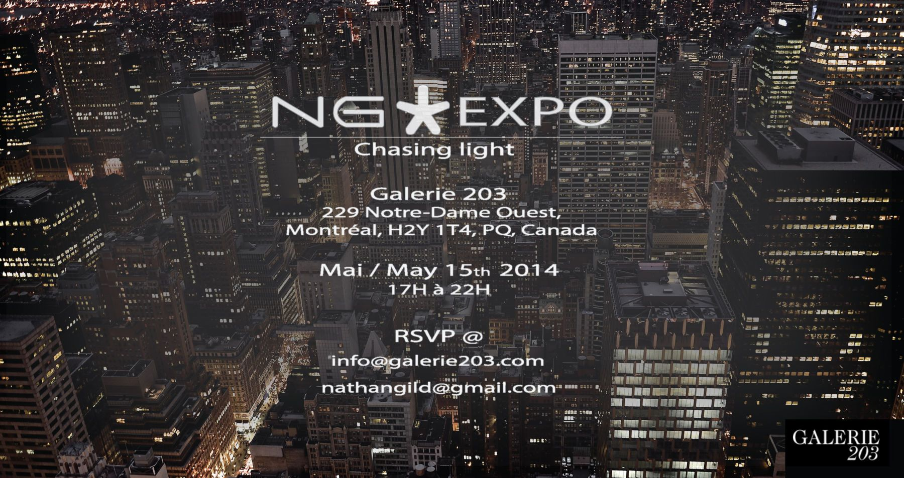 NGexpo ''Chasing light''