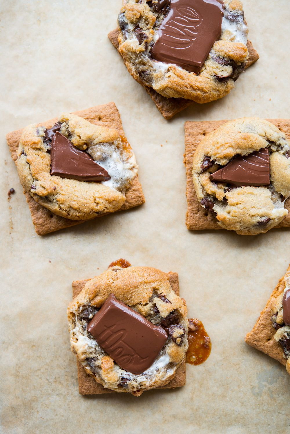 Theo's chocolate smores cookies