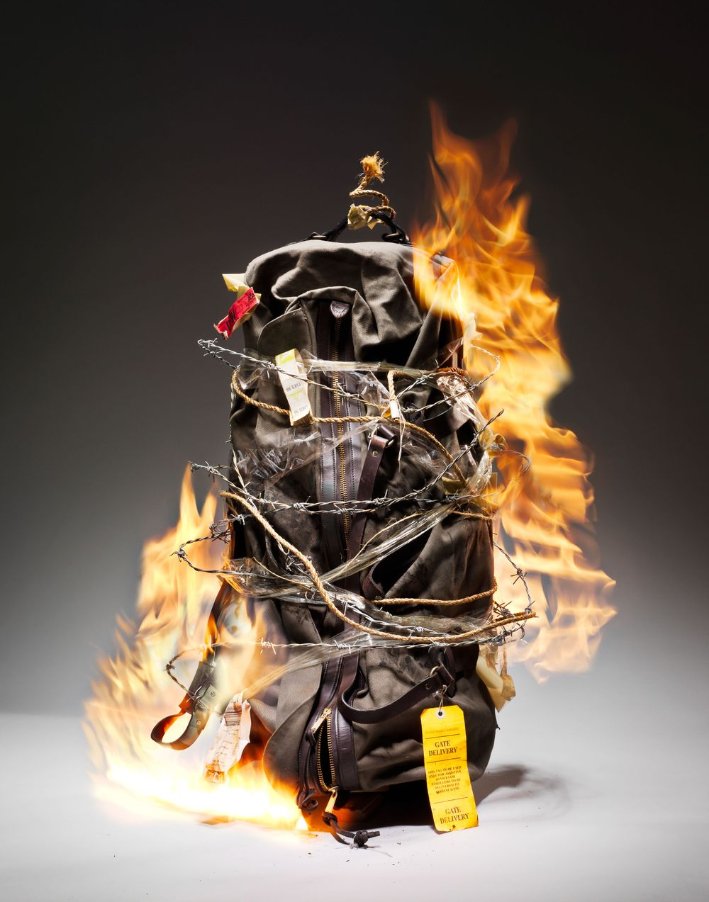 Fire in photography
