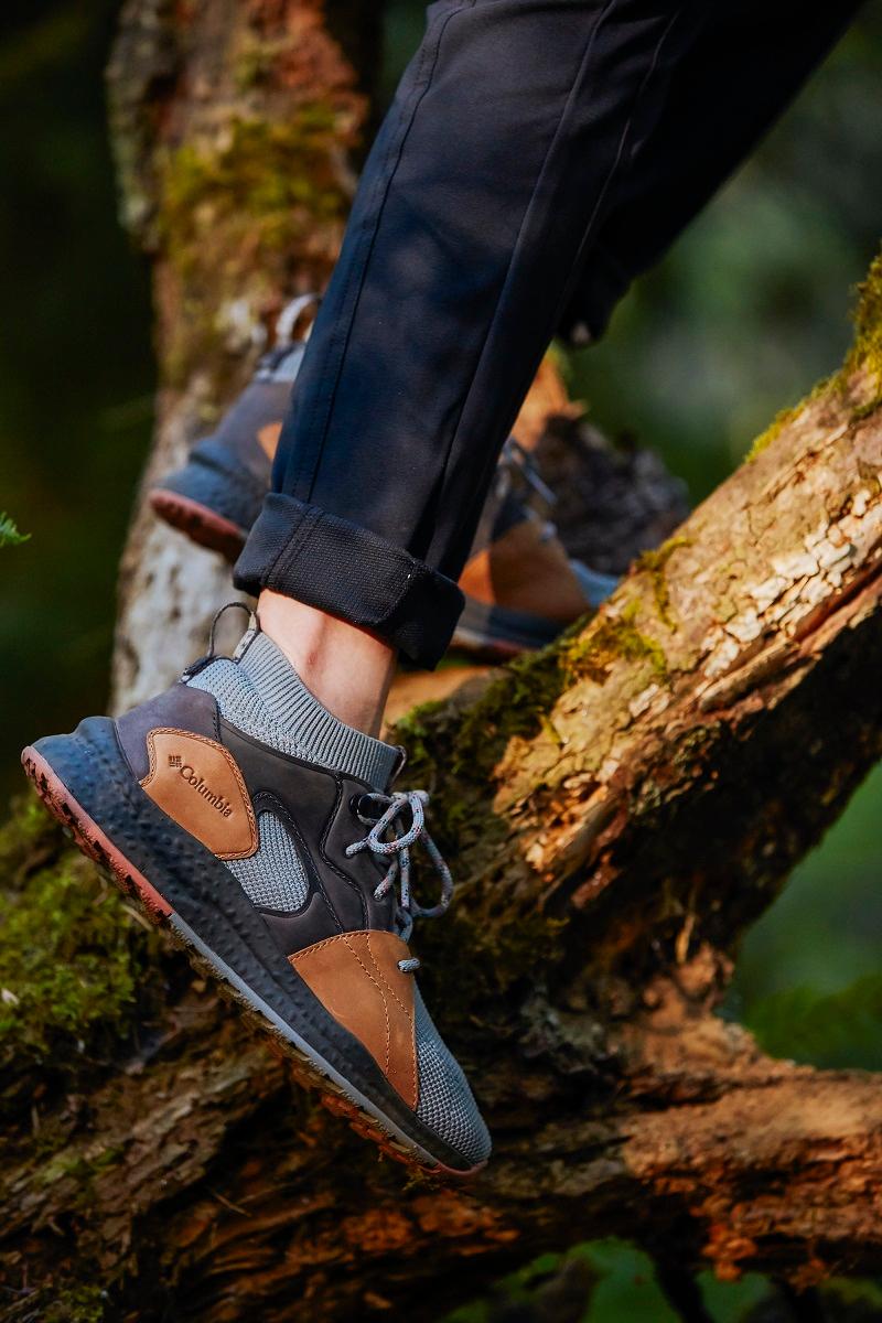 Columbia sneakers, hiking shoes