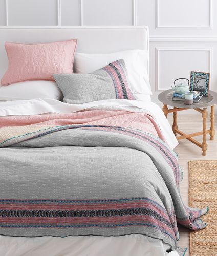 Pink Bedding, Cost Plus, Bed Stylist.jpg