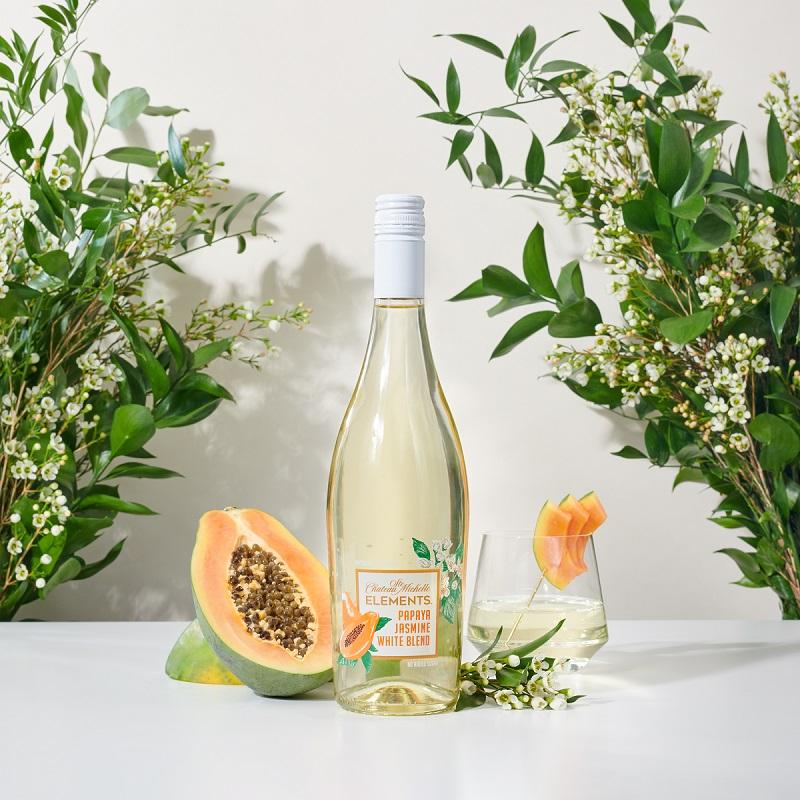 Wine and Papaya