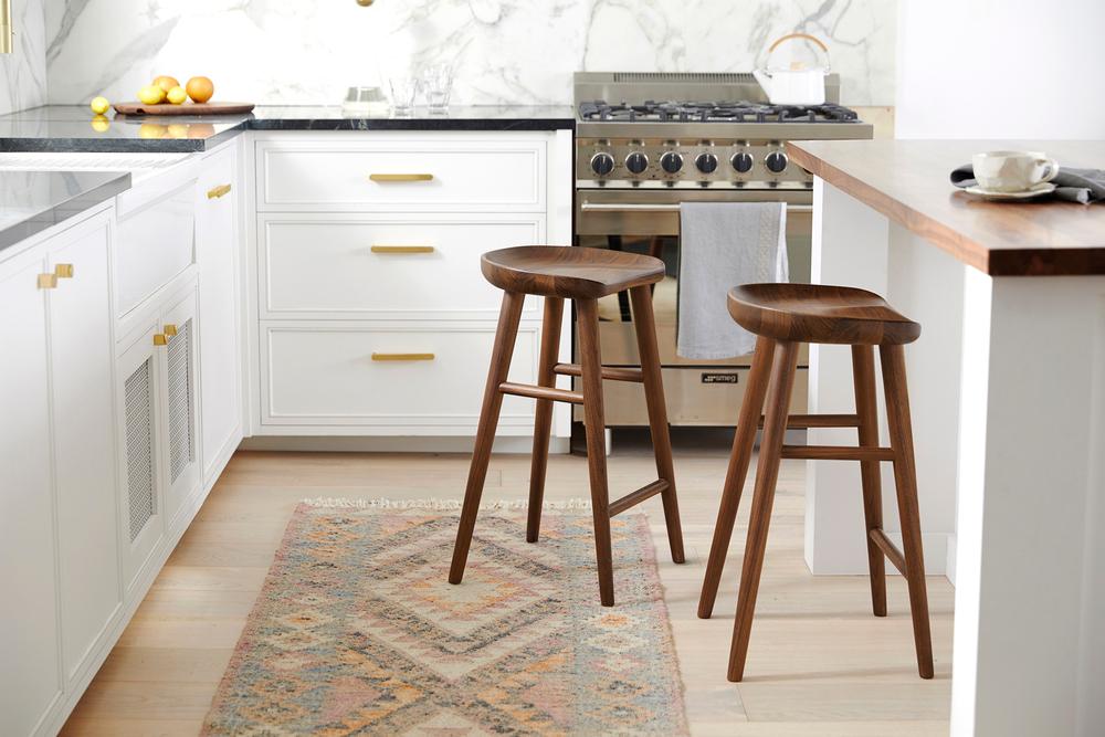 Rejuvenation Kitchen with Barstools