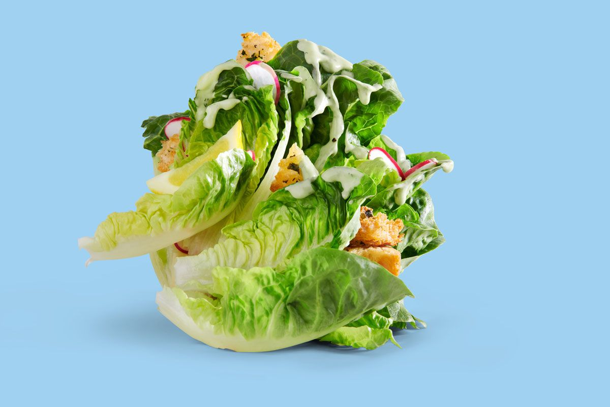 Salad advertising image for ZeroEgg