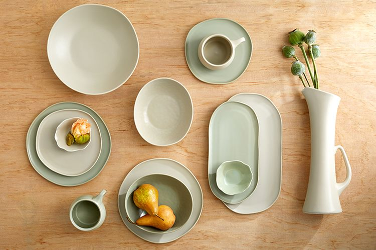Ceramic, custom dinnerware