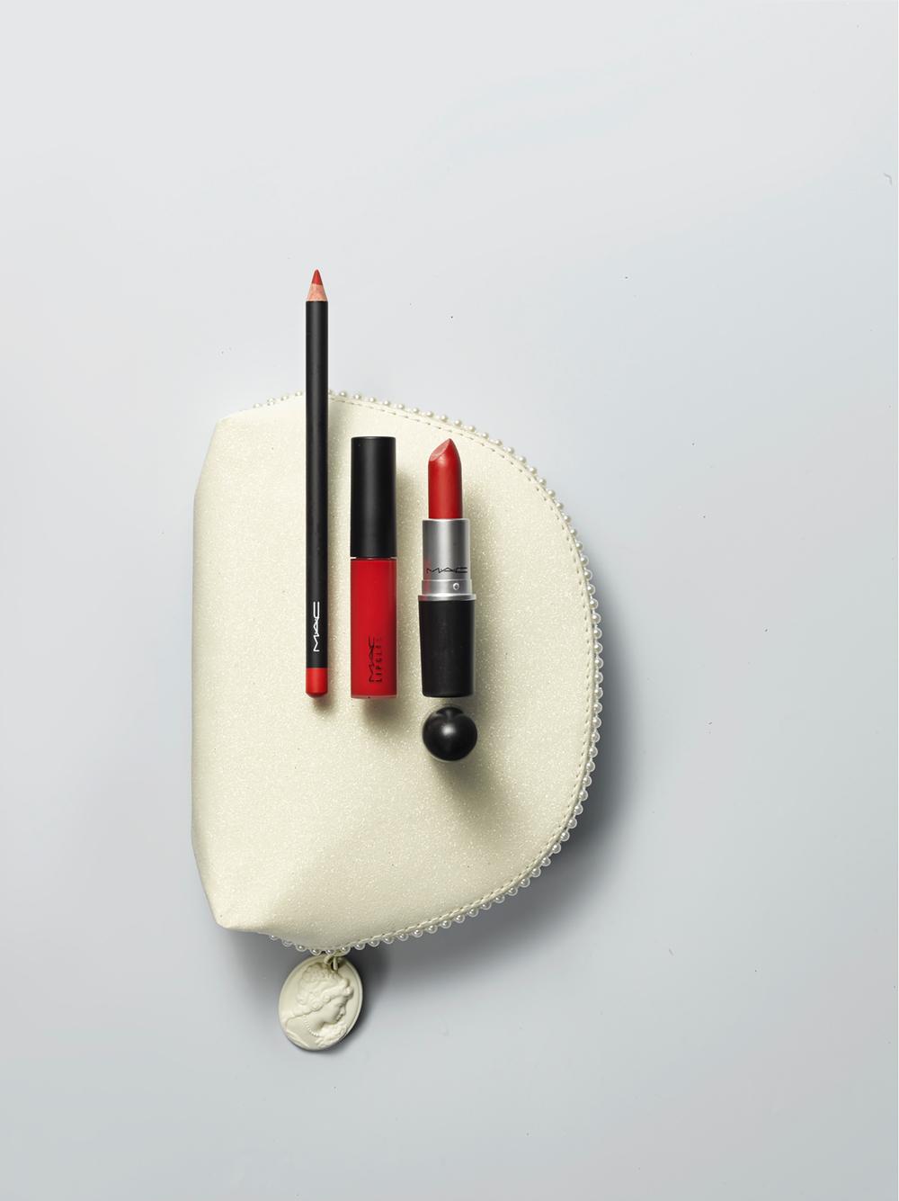 MAC Red Lip Color Trio