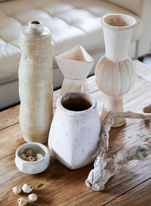 ceramic accents, interior design