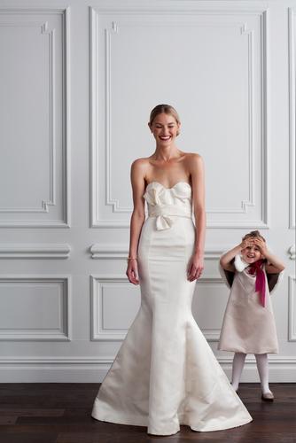 Martha Stewart Weddings, Strapless Bridal Gown Ideas