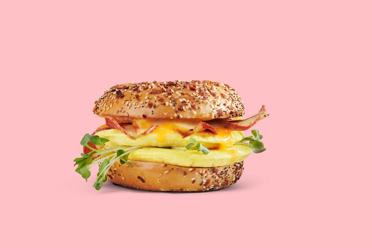 Egg Sandwich Advertising Photography for Zero Egg