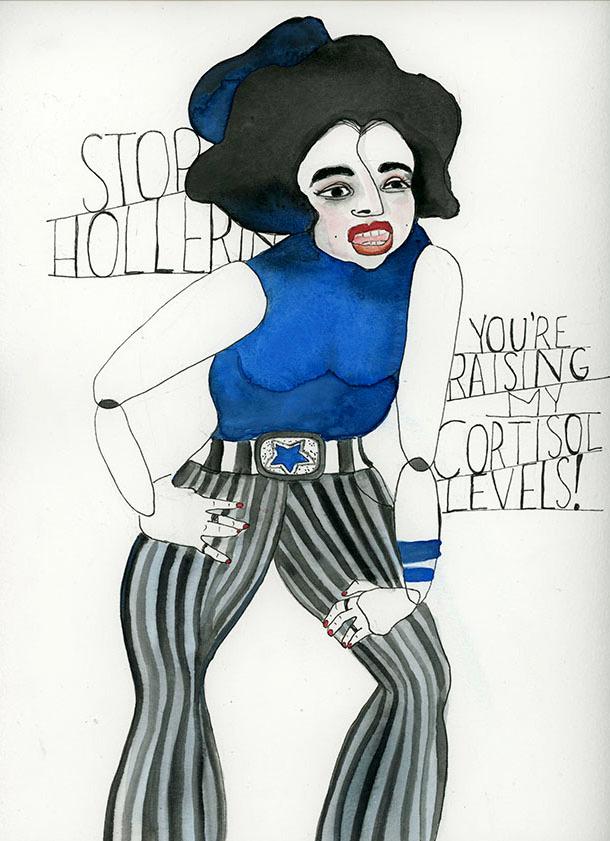 Stop Hollering