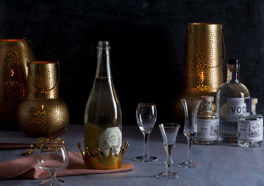 wine and beverage styling