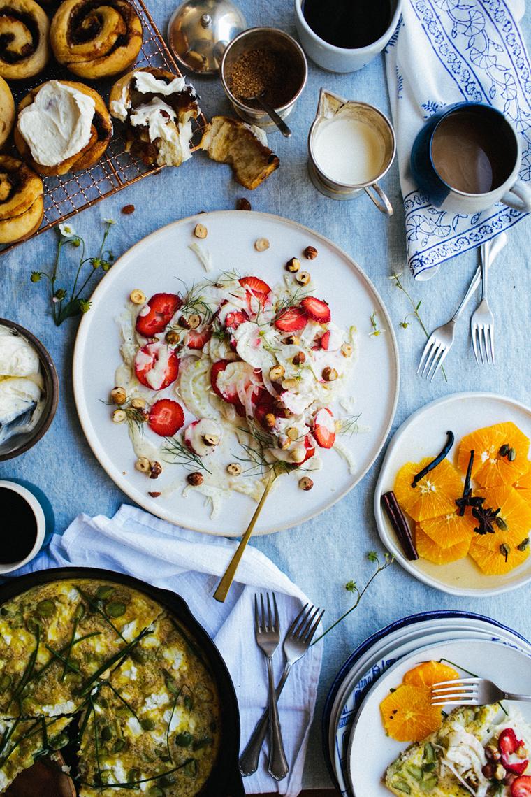 Breakfast Table Assortment