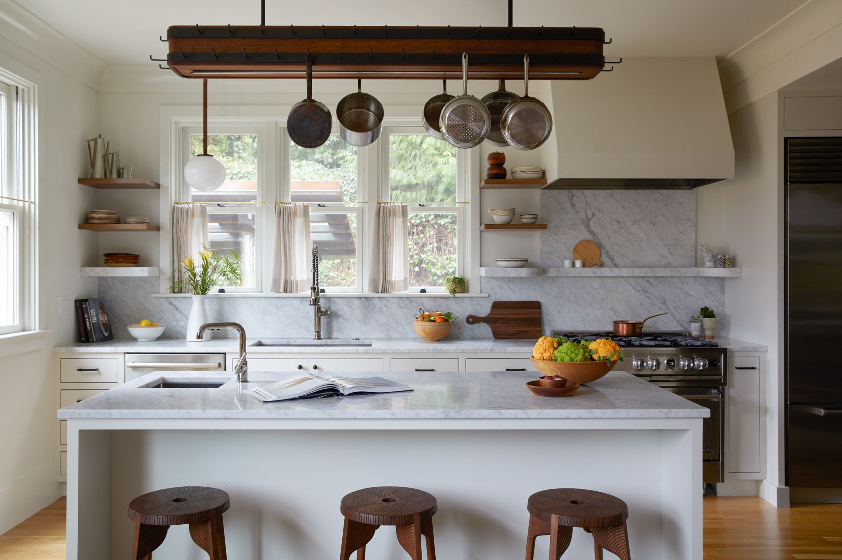 Country Kitchen with a Modern Twist