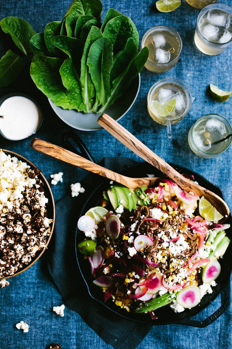 Fresh light summer salad