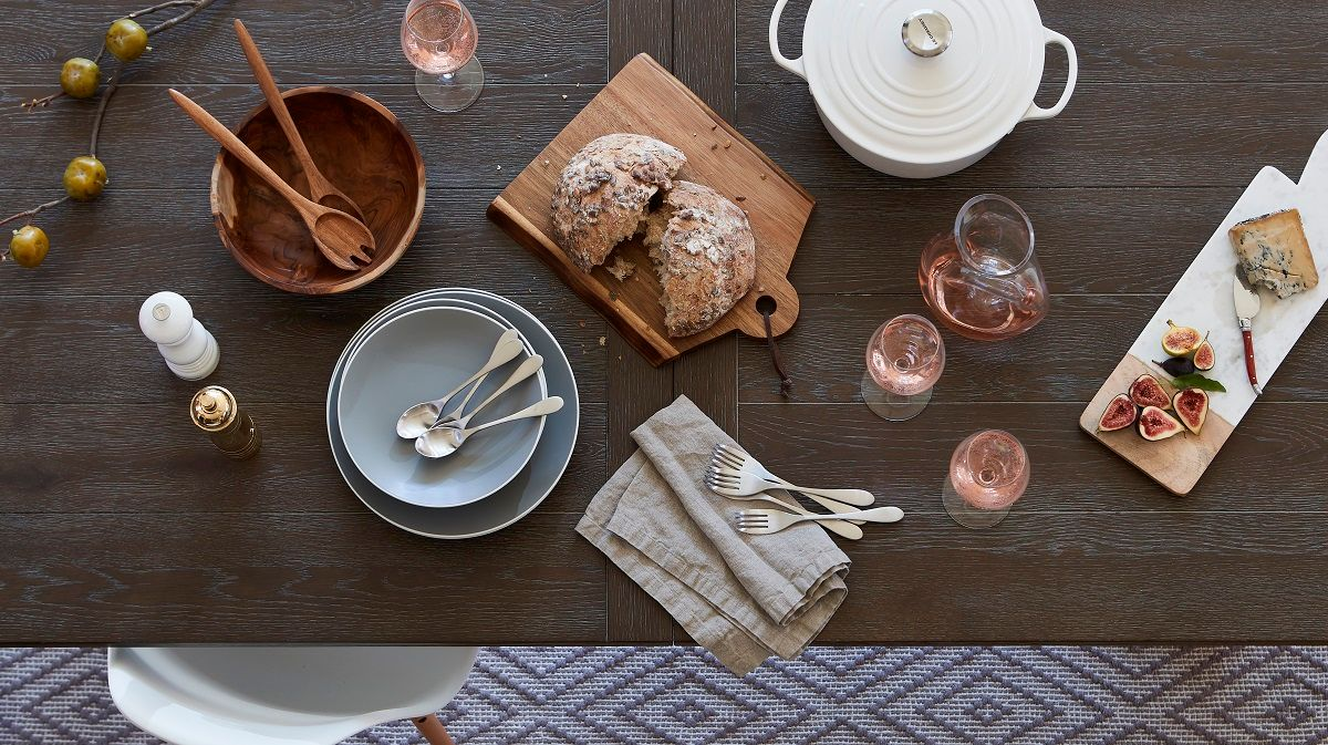 Molly Hurd styles table top for Interior Photo