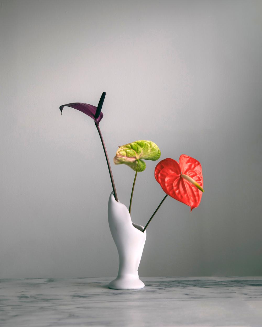 modern floral arrangement