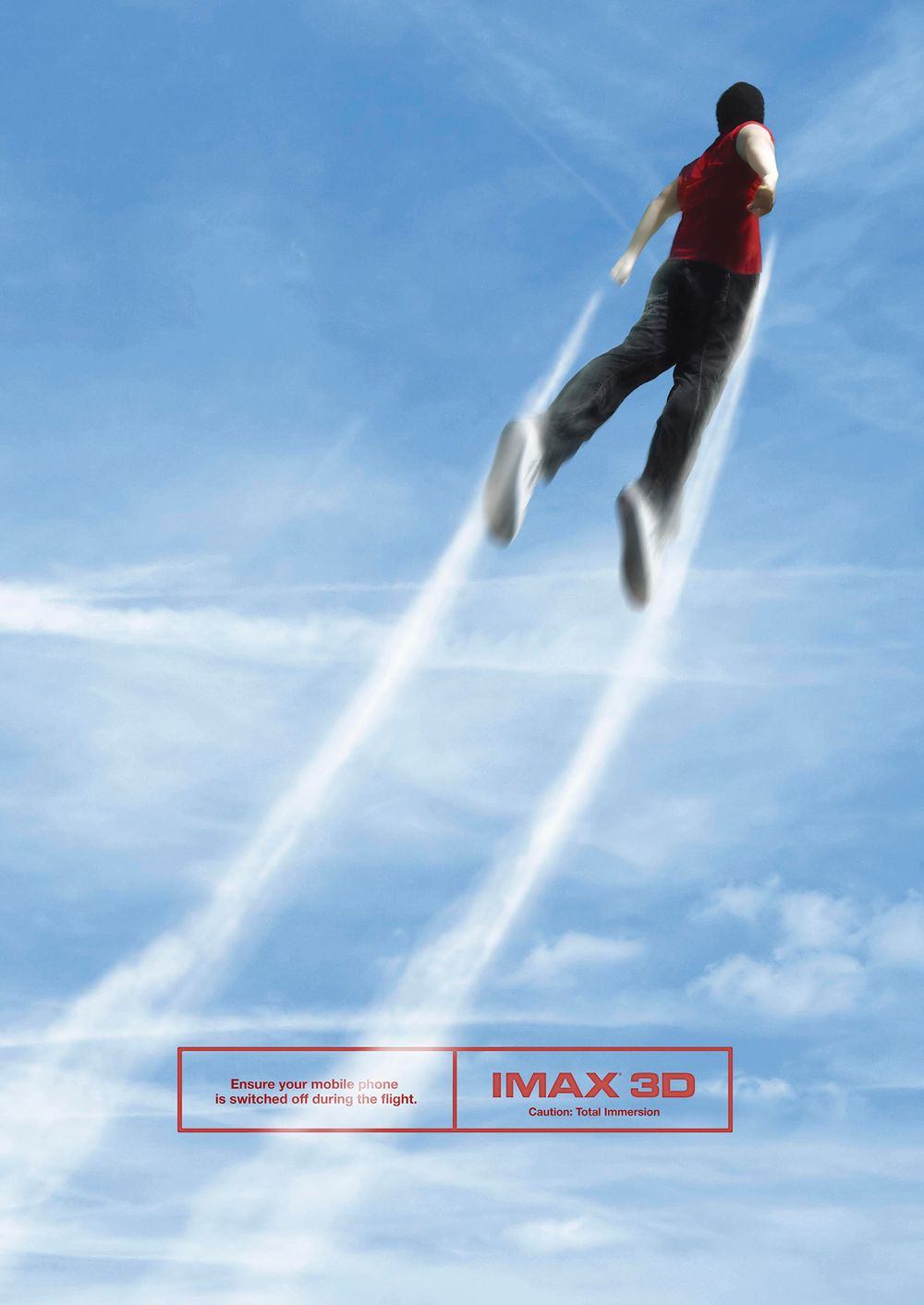 Jet pack Imax theater ad image