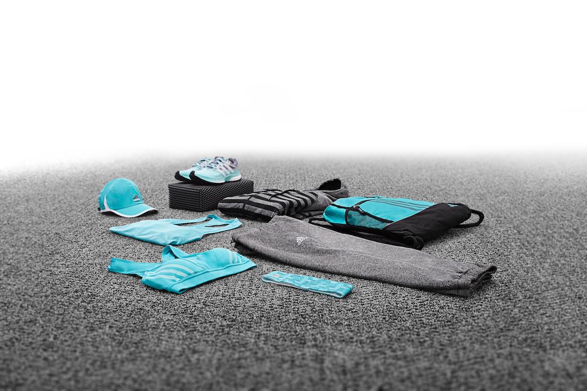 Turquoise Adidas Apparel