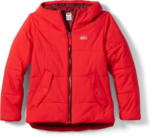 REI red parka