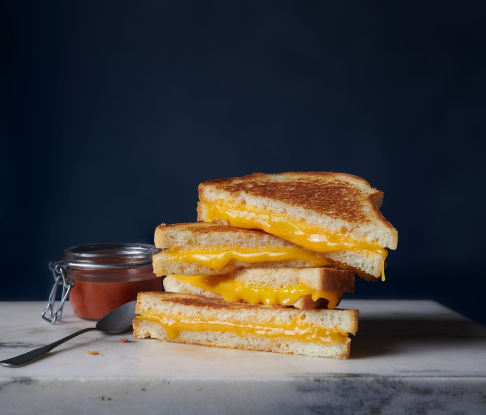 Grilled Cheese with Tillamook Cheddar photo by Sarah Flotard