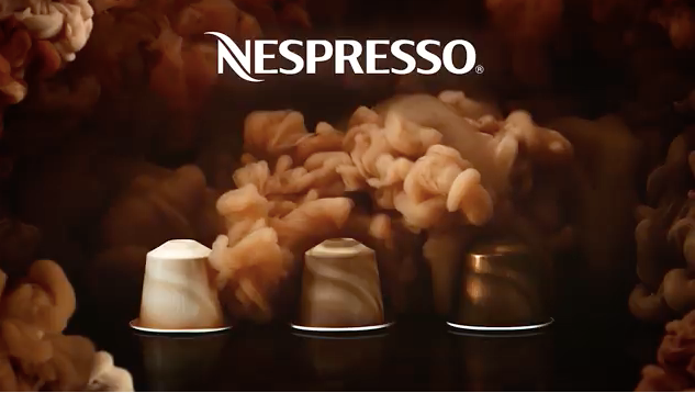 Nespresso Coffee advertising TV ad, Mark Mawson Photography
