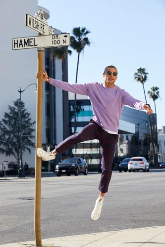 Los Angeles Violet and Lavender Fashion