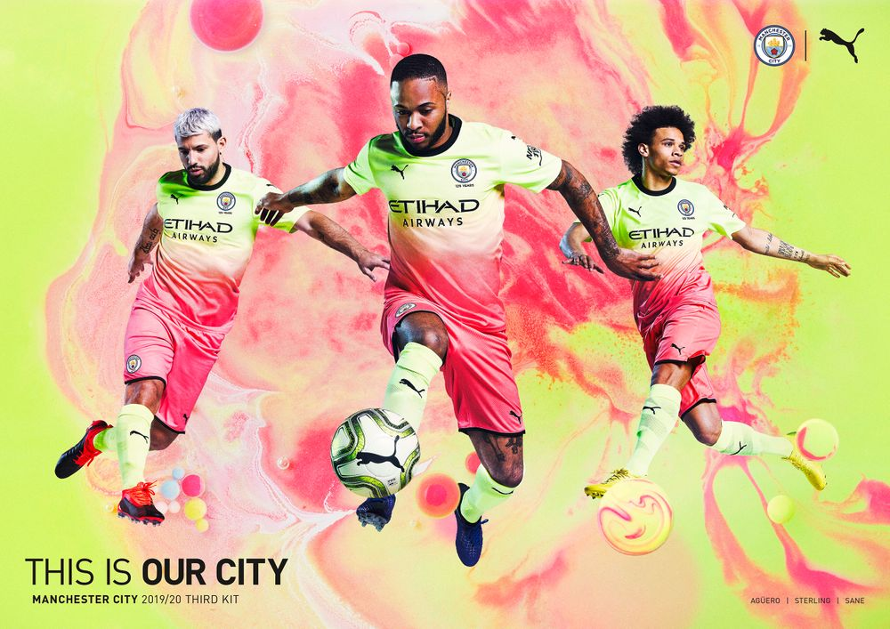 Football ad campaign for Manchester