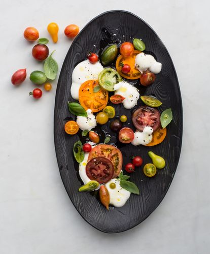 Perfect Bite caprese salad tomatoes cheese