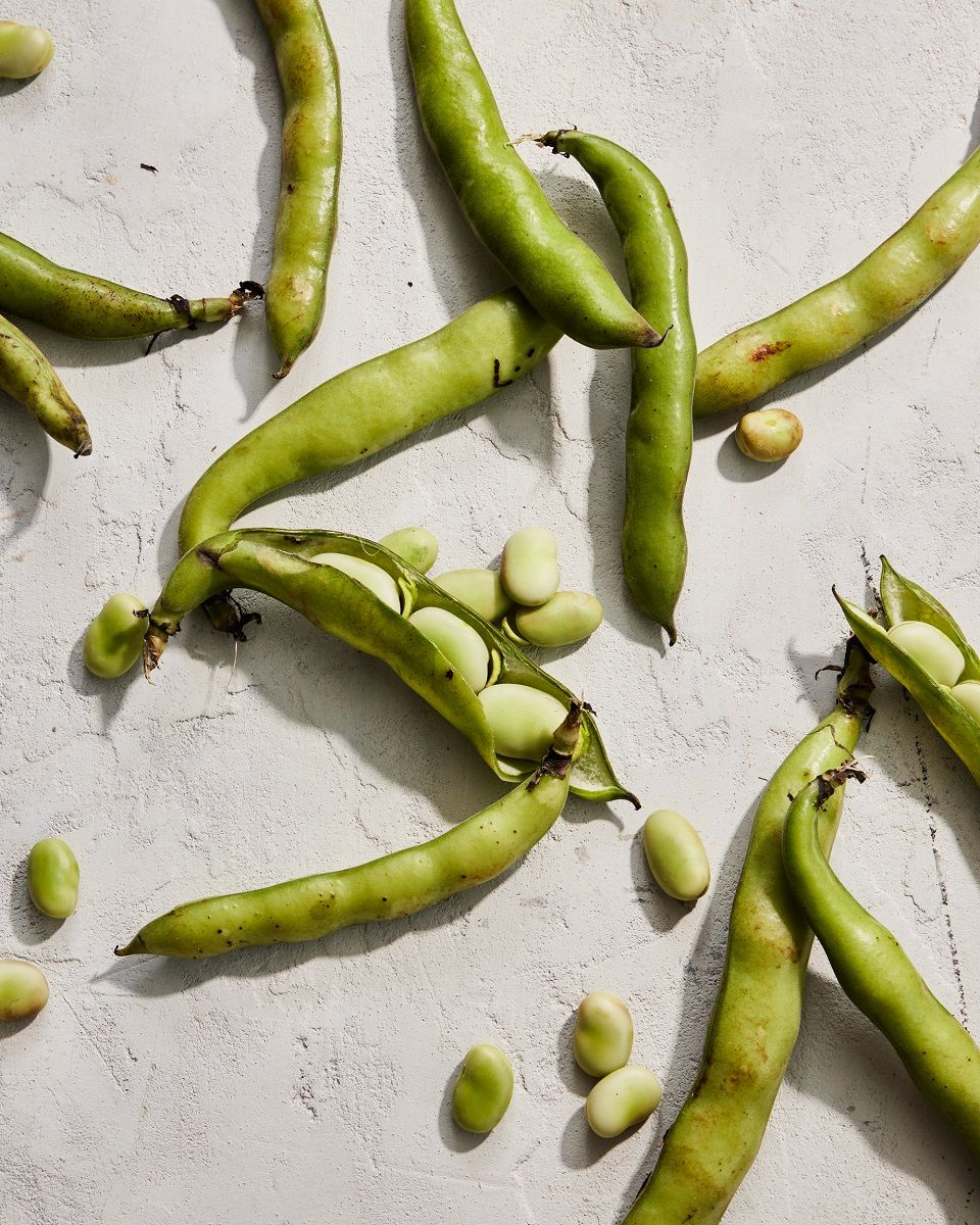 Grilled Pea Pods