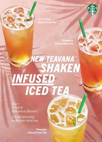 Starbucks Shaken Infused Iced Tea By Sarah Flotard