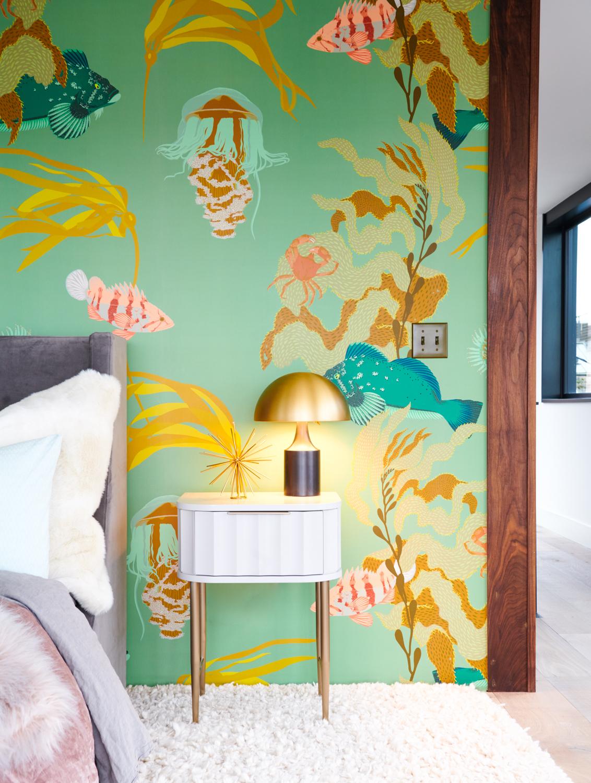 Sea wallpaper bedroom