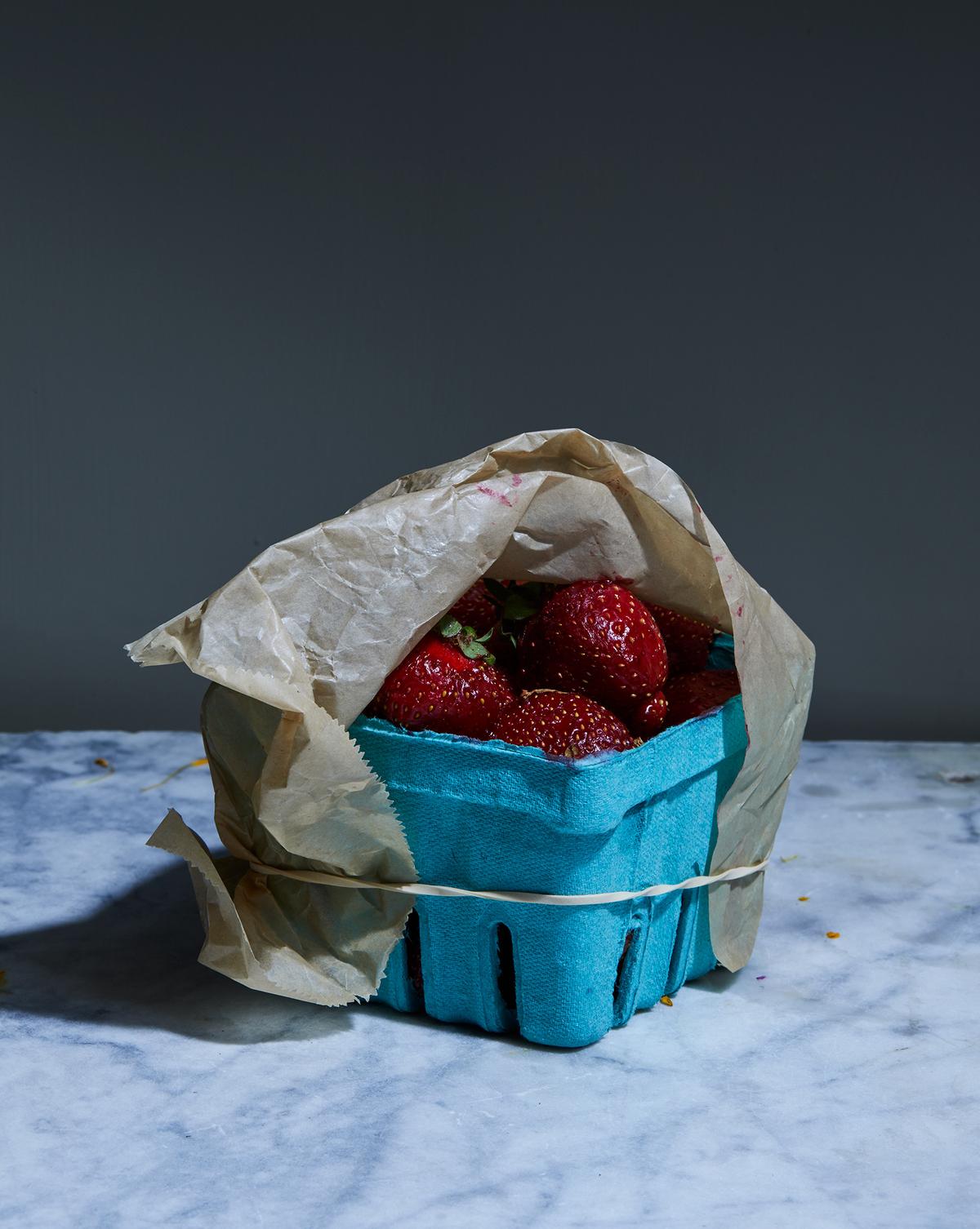 Summer Still Life Strawberries