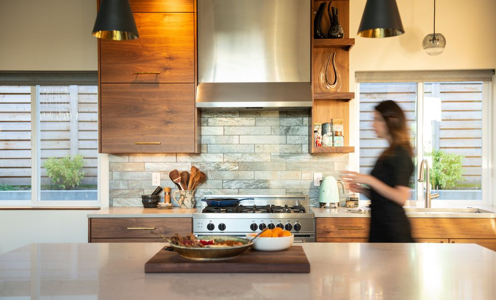 Cedar House West motion blur kitchen