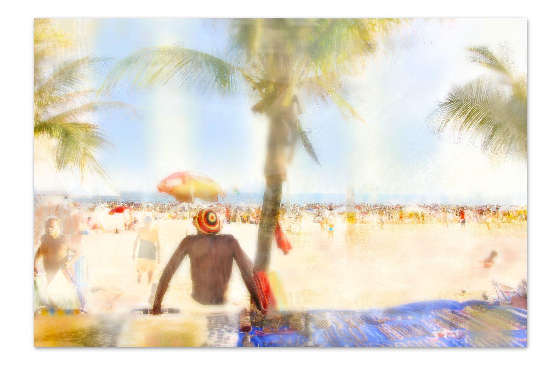 Rasta Beach, Copacabana Beach, Rio de Janiero, Brazil