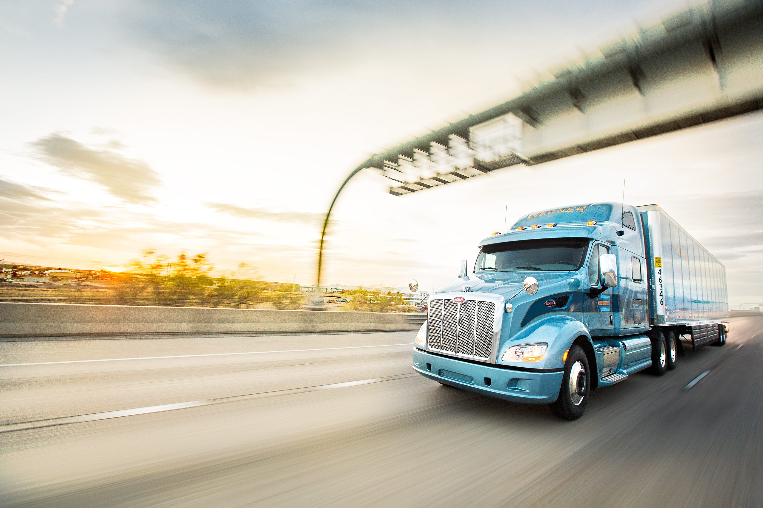 Photographer: Geoff Johnson | Client: Werner Trucking