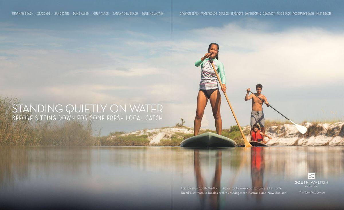 Visit South Walton print campaign: Photography by Sean Murphy