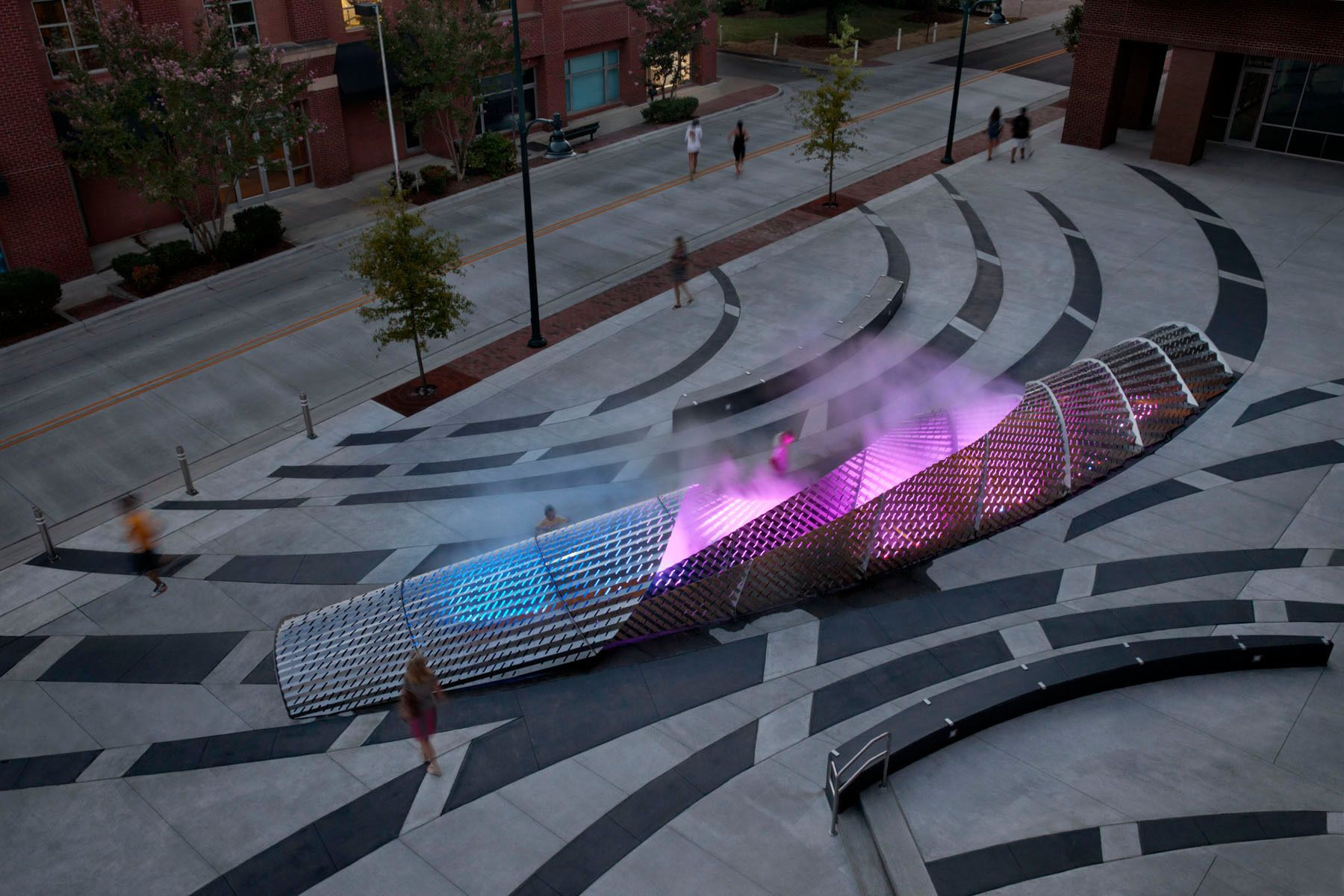 """""""Exhale""""  /  Chapel Hill NC  /  Mikyoung Kim Design"""