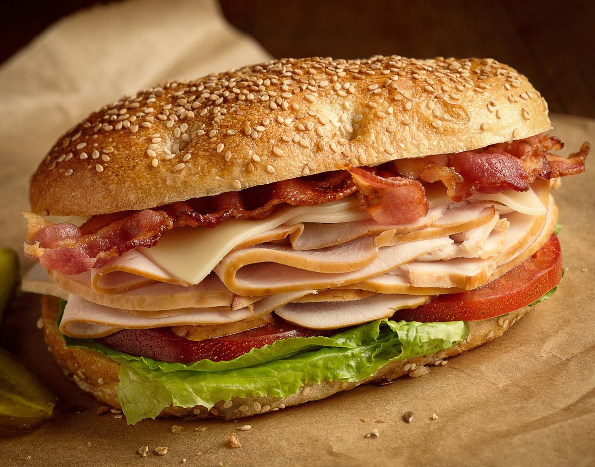 Roast Turkey Sandwich
