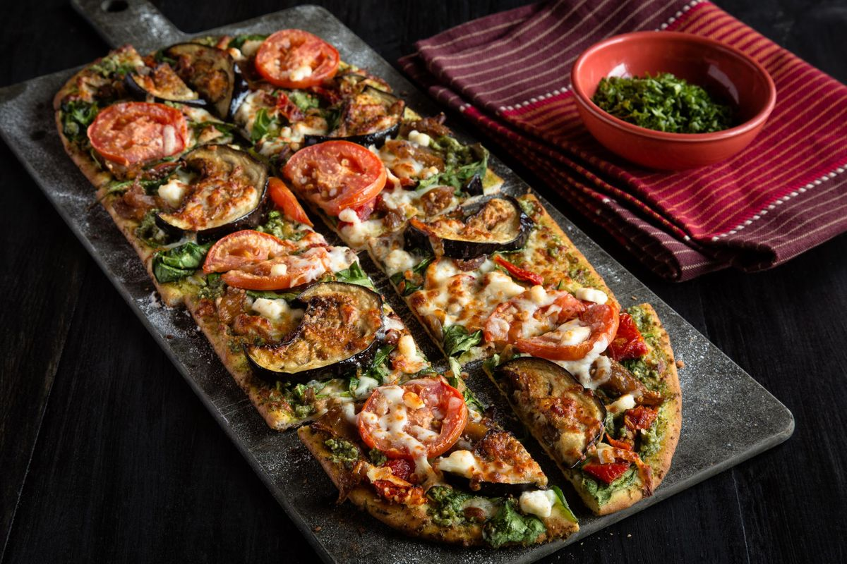 Flatbread Pizza.