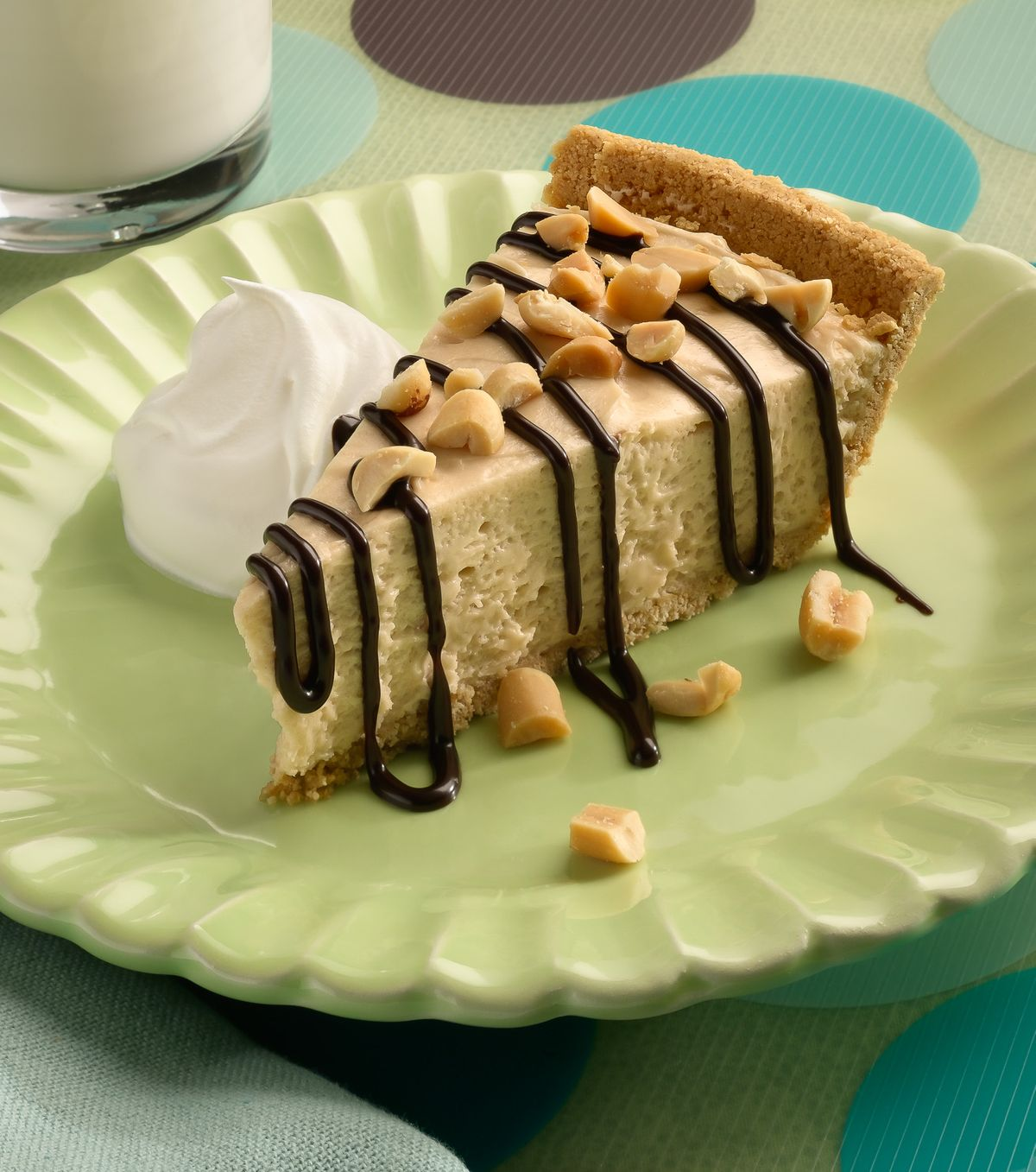 Peanut butter pie.