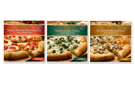 Retail pizza packaging