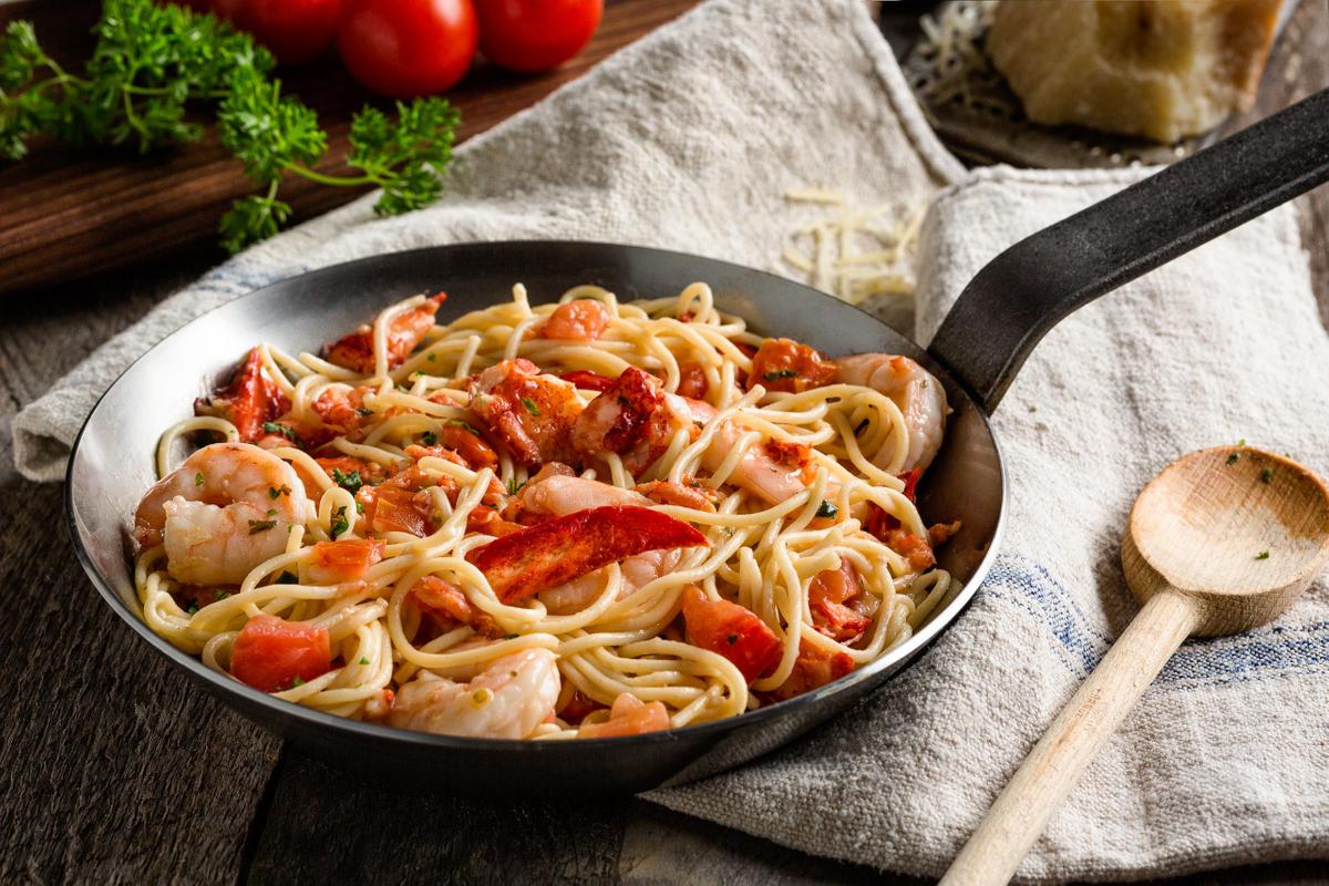 Seafood Pasta.