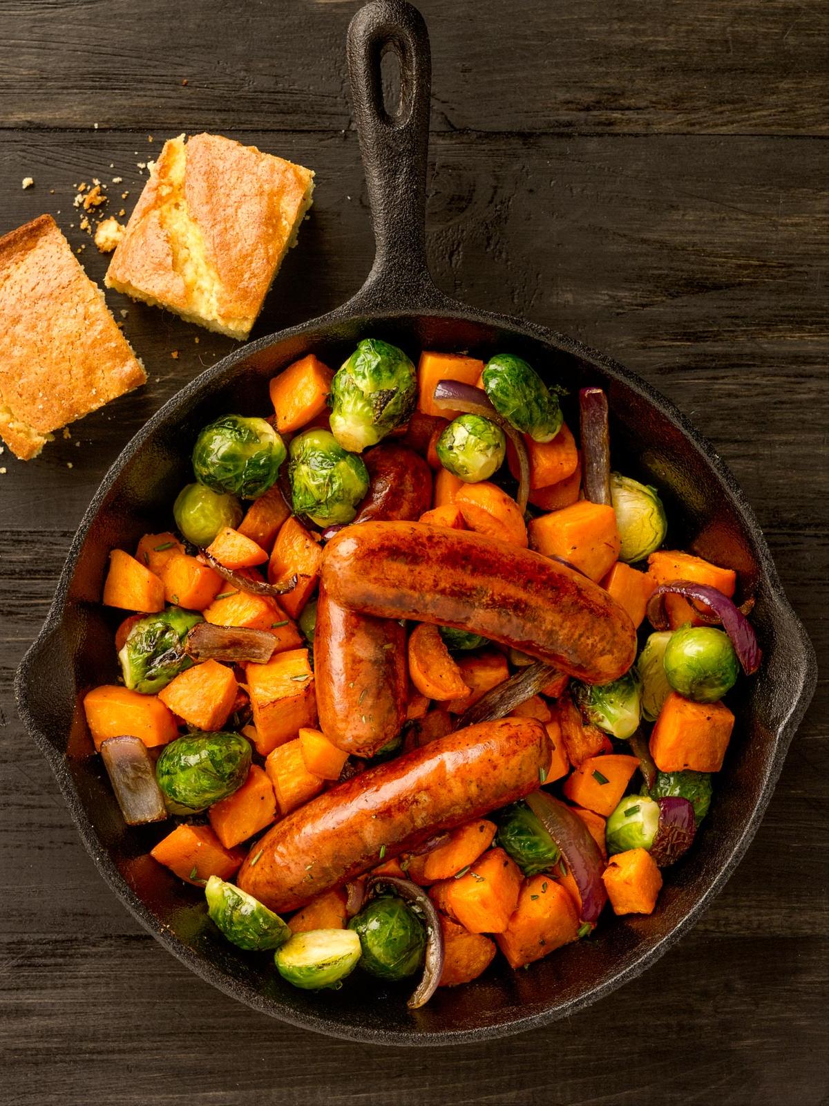 Skillet Sausage Recipe