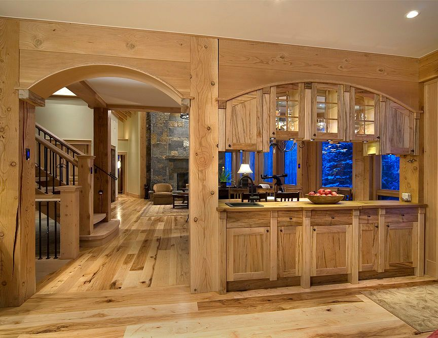 Arch and Wet Bar