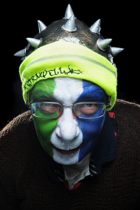 Seattle Seahawks fan portraits