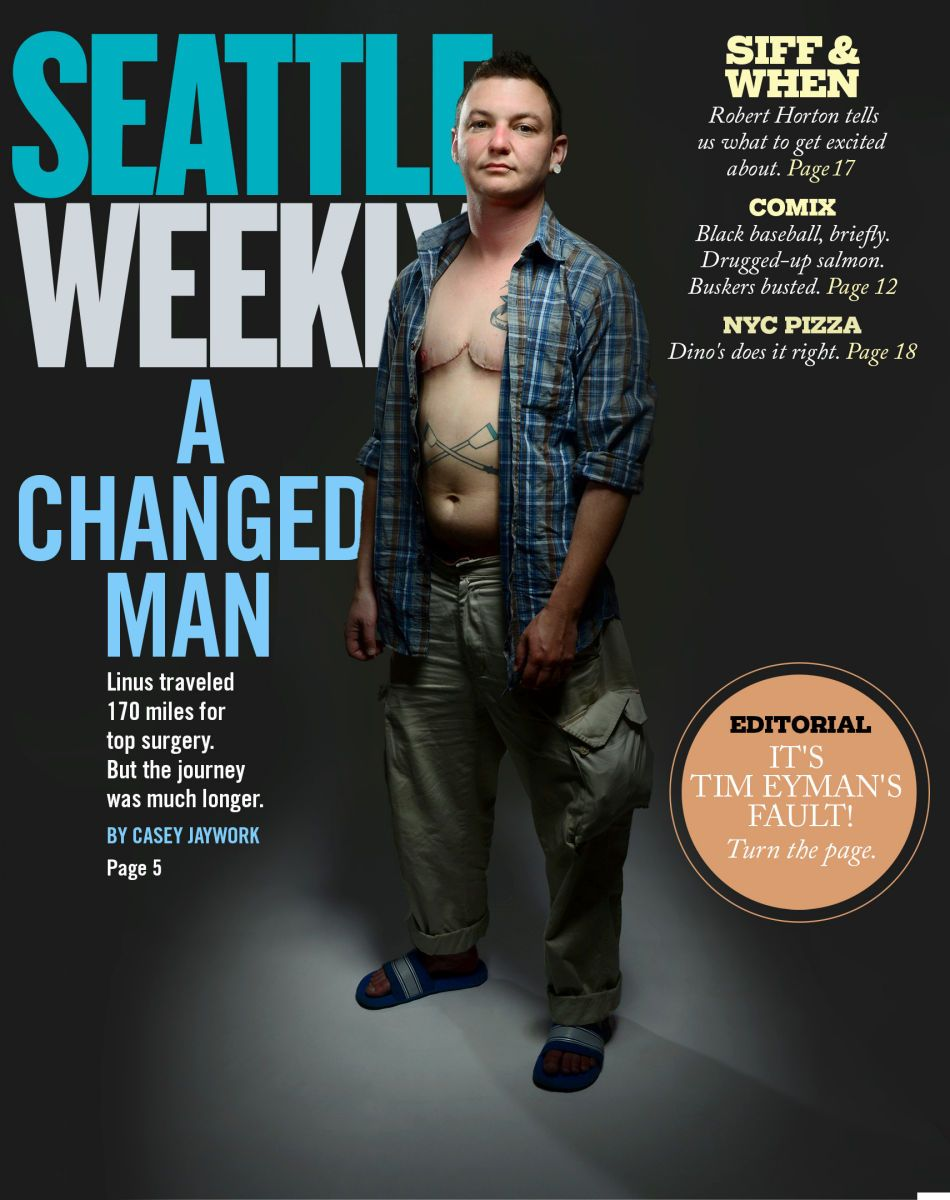 Seattle Weekly cover shoot