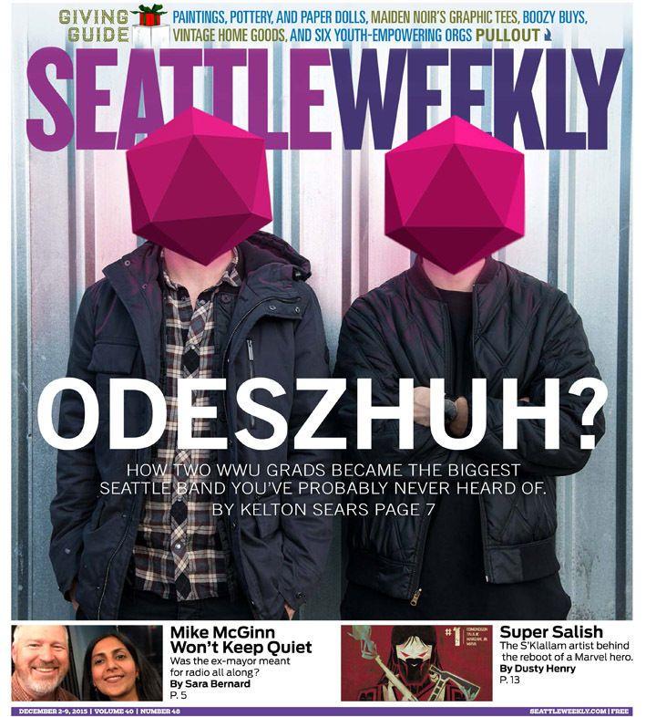 Odesza portraits in Seattle