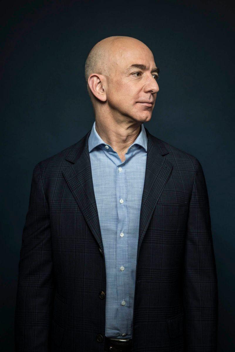 Jeff Bezos for The London Telegraph