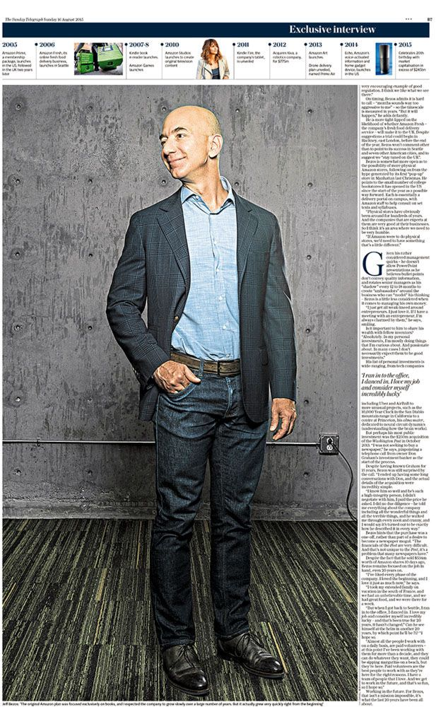 Jeff Bezos portrait #2