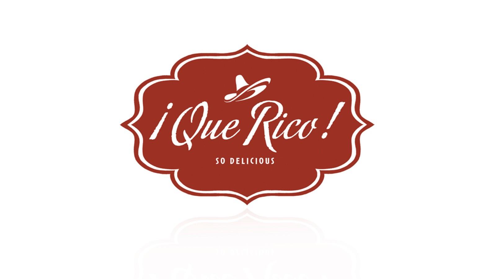 MI RANCHO QUE RICO PRODUCT LOGO CONCEPT